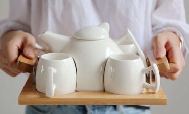 Bộ ấm trà Nhật Bản - Quà tặng gốm sứ cao cấp