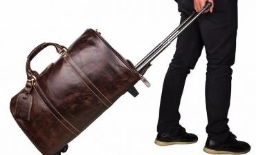 Túi xách cần kéo cao cấp - Quà tặng ngân hàng