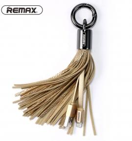 Móc khoá kiêm sạc Remax - Quà tặng nữ cá tính