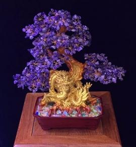 Cây tài lộc Thạch Anh Tím tự nhiên - Quà tặng phong thuỷ