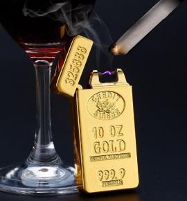 Bật lửa vàng miếng 9999 - Quà tặng may mắn