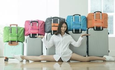 Túi xách du lịch gấp gọn - Quà tặng rẻ mà hữu dụng