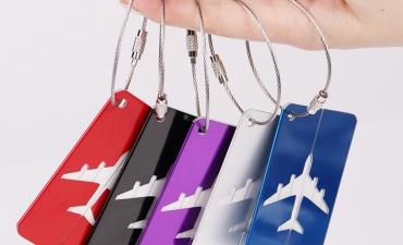 Thẻ hành lý Aluminum - Quà tặng quảng cáo rẻ nhưng chất lượng