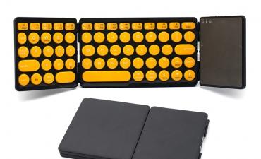Quà tặng công nghệ không dây - Bàn phím gấp gọn B&W