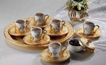 Bộ tách cà phê Thổ Nhĩ Kỳ - Quà tặng độc đáo thế giới.