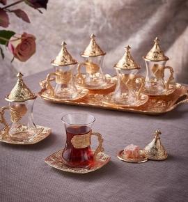 Bộ cốc trà Trung Đông - Quà tặng độc đáo thế giới.