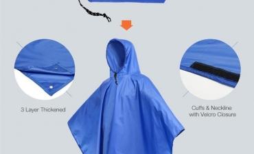 Áo mưa 3 trong 1 - Quà tặng phổ biến