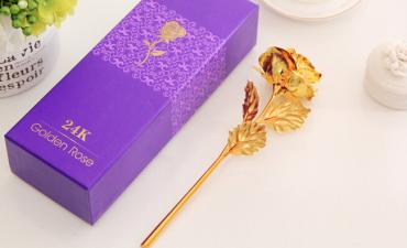 Bông hồng vàng 24k - Quà tặng nội bộ đặc sắc